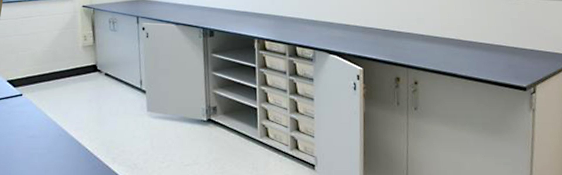 Corilam Casegoods Shop Cabinets B