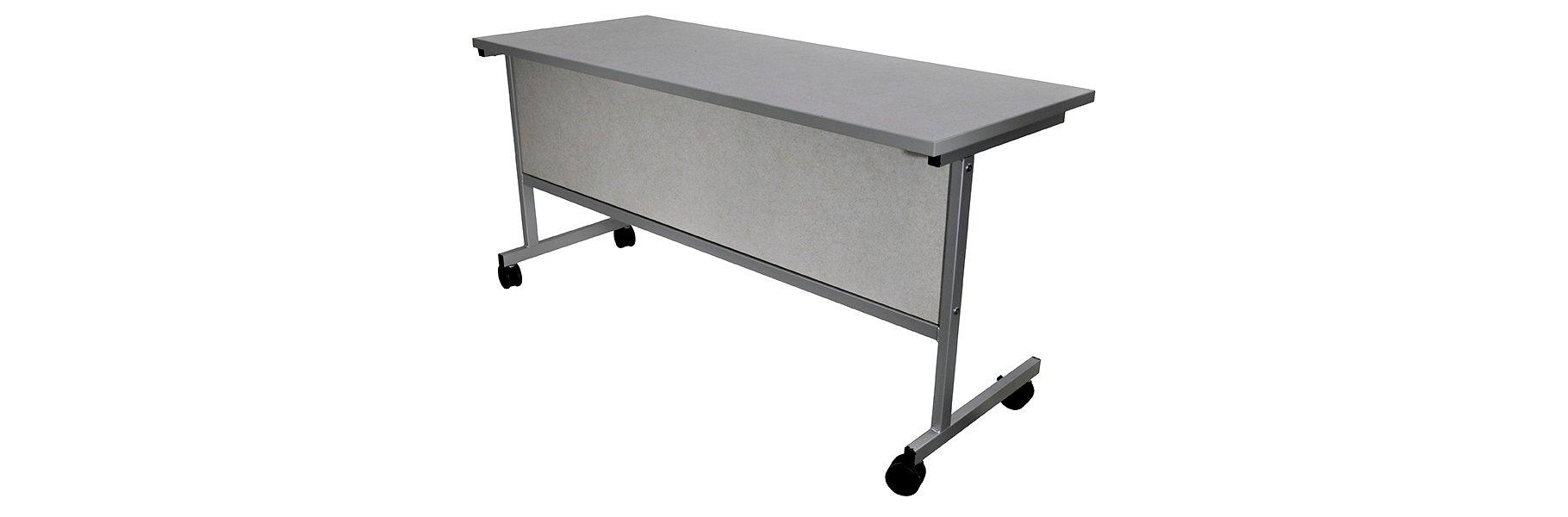 Corilam 613 Mobile Steel Base Desk Front.jpg