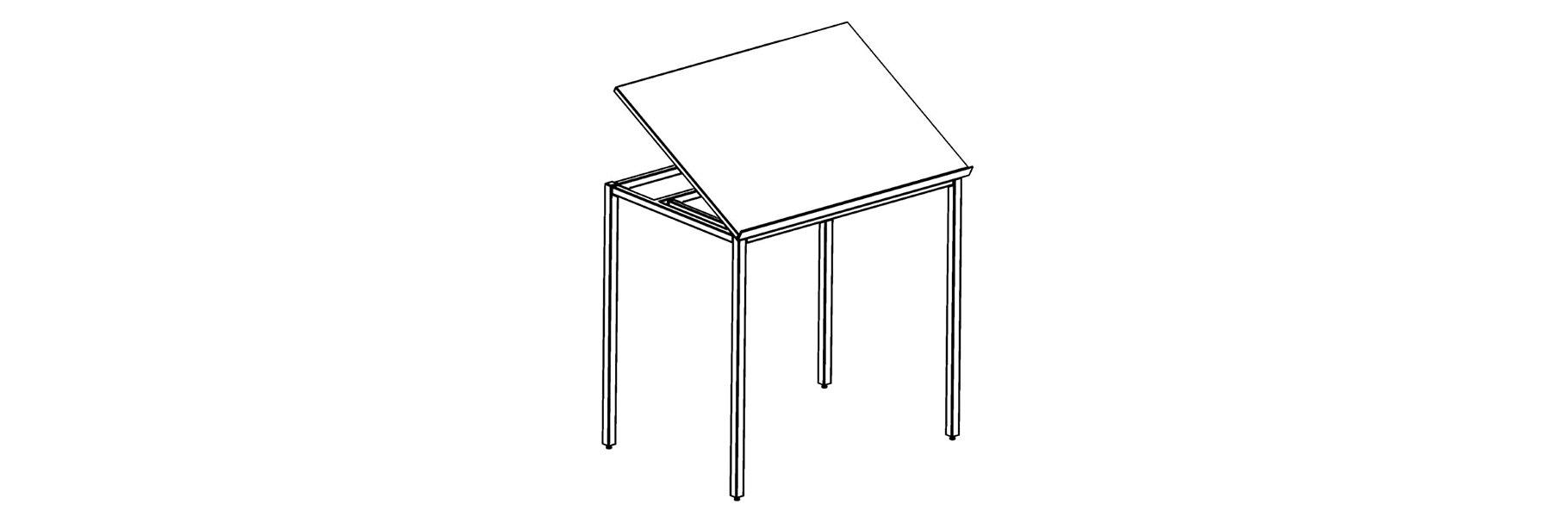 Corilam 660 Full Tilting Drafting Table